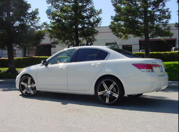 Honda Accord w/wheels/tint