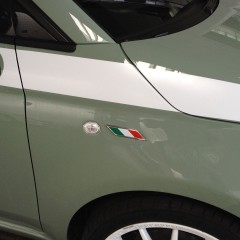 Italian Flag Small Emblem This graphic can be placed anywhere on the car